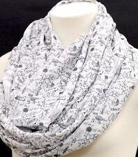 Science infinity scarf engineer birthday gift for her nerd geek wife teacher