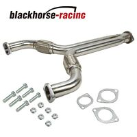 STAINLESS RACING X/Y-PIPE DOWNPIPE EXHAUST FIT FOR 03-07 350Z Z33/G35 V35 VQ35DE
