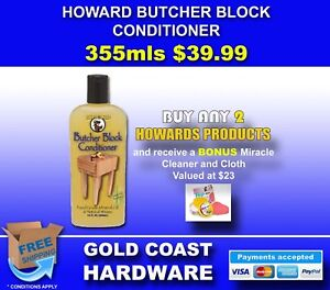 Howard Products Butcher Block Conditioner