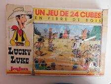 Cubes Lucky Luke, JeuJura - Cavahel Vintage