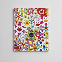 """16X20"""" Gallery Art Canvas: Takashi Murakami Flowers Smiley Faces Complexcon!"""