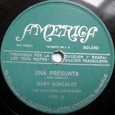 BABY GONZALEZ Y SU CONJUNTO  LATIN 78 Una Pregunta