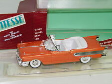 VITESSE - BUICK SPECIAL 1958 OPEN CABRIOLET ORANGE