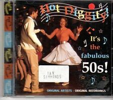 (DX280) Hot Diggity!, It's The Fabulous 50s, 20 tracks various artists - 1999 CD
