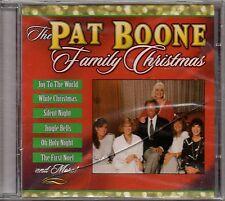 "PAT BOONE ""THE PAT BOONE FAMILY CHRISTMAS"" CD 1998 uav sealed"
