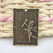 8pcs antiqued bronze Cupid arrow pendant charm G511