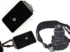 Metal Quick Release Mounting Plate for Canon Nikon DSLR Camera Quick Strap
