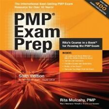 PMP EXAM PREP BY RITA MULCAHYV 6TH EDITION PAPERBACK