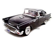 1957 FORD THUNDERBIRD BLACK 1:18 MODEL CAR BY ROAD SIGNATURE 92358