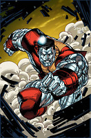 INVINCIBLE IRON MAN #9 JIM LEE X-MEN TRADING CARD VARIANT MARVEL COMICS COLOSSUS