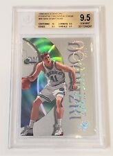 1998-99 E-X ESSENTIAL CREDENTIALS NOW DIRK NOWITZKI RC 44/68 BGS 9.5 True Gem!