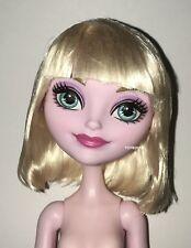 Ever After High Archery Club Bunny Blanc Nude Doll NEW for OOAK Custom or Play