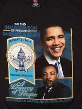 Barack Obama Second Inauguration 2013 MLK JR. Legacy Double Sided TShirt 2XL XXL
