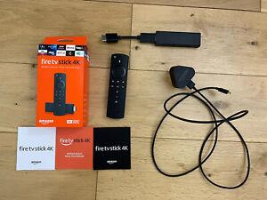 Amazon Fire TV Stick 4K Ultra HD With Box