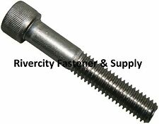 (10) M5-0.8x40mm OR M5X40 mm Socket / Allen Head Cap Screw Stainless Steel