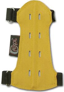 CAROL TARGET ARCHERY FABRIC ARM GUARD VENTED FAG215 (15cm LONG x 7cm WIDE) YOUTH