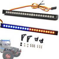 Colorful Flash LED Light Bar Roof Lamp for 1/10 RC Crawler TRX4 SCX10 90046 D90