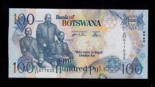 BOTSWANA  100 PULA 2004  PICK # 29a  UNC LESS.