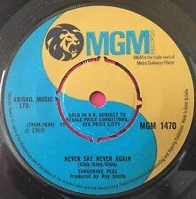 """Tangerine Peel - Never Say Never Again UK 1969 7"""" MGM Recs"""