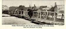 Russisch-Polen * Deutsche Munitionskolonne Warthe (bei Lodz)* Bilddokument 1914