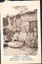 POSTCARD Macedonia Thessaloniki Small Traders The Laundry Women  c1915