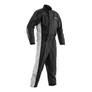 RST 0204 Waterproof Motorcycle Bike Rain Suit Black / Grey