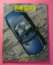 THE STAR MAGAZINE, MERCEDES-BENZ CLUB OF AMERICA,  SEPTEMBER/OCTOBER  2001, NEW