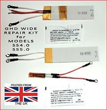 Nuevo-ancho SS4.0 y SS5.0 Kit De Reparación GHD Calentadores, Termistor-, Fusible & Pegar.