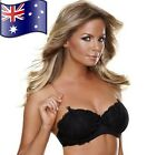 1 Pair Women's Clear Invisible Transparent Adjustable Bra Straps See Through NEW