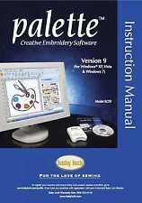 Baby Lock Palette ECS9 Ver.9 Software Instruction Manual Manual