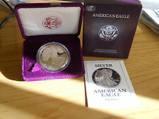 DOLLAR SILVER LIBERTY   1991  PROOF  ONE  DOUCE