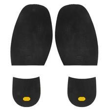 Footful Rubber Glue on Soles Taps M 1.9mm & Heel Pads 6.5mm Shoes Repair Kit