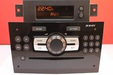 VAUXHALL MERIVA CORSA D CD30 CAR RADIO CD MP3 AUX PLAYER PAIRED DISPLAY DELPHI