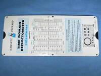 Vintage Hewlett Packard HP Reflectometer Calculator Slide Rule 1965 Perrygraf