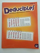 Mind ware Deducibles Level A Eliminate your way to the correct sequence