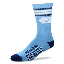 North Carolina Tar Heels Basketball Football NCAA Licensed Quarter Crew Socks