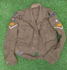 More details for original 1947 royal tank regiment signals battledress blouse