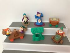 Snow White and the Seven Dwarfs Figures McDonalds Happy Meal Toys 1992