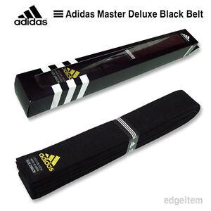 Adidas Master Deluxe Black Belt Taekwondo TKD Karate Judo Hapkido