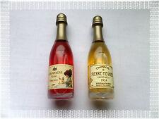 Lot de 2 Aimants Magnets Bouteille de Champagne Blanc  Rosé Neufs