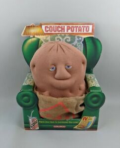 """Coleco Couch Potato 14"""" Stuffed Plush Toy Vintage 1987 Collectible In Box VTG"""