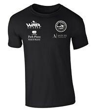 Derek Chisora  Black Boxing T-Shirt White Print