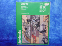 FORD CAPRI Owner's Workshop Manual Autobook 709 HB BOOK 1300-2000OHC S1&2 '72-76