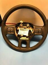 2015 Dodge Ram 1500 Steering Wheel Cruise Audio Controls Black OEM P1VA40DX9AF