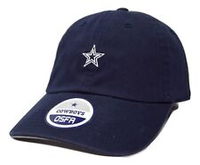 Dallas Cowboys Mini Star NFL Logo Relaxed Fit Adjustable Football Cap Dad Hat