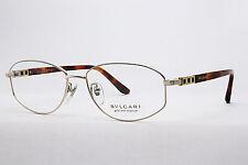 % BVLGARI  Brillenfassung 264 TK  407  Gold & Titanium    #A3