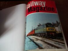 More details for railway magazine 1967 full year bound copies pre owned good condition