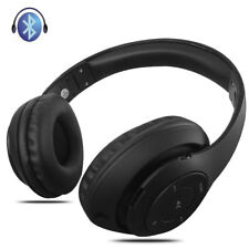 For Samsung iPhone Wireless Bluetooth Headphones Foldable Stereo Headsets w/ MIC