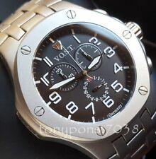 Orologio Cronografo Uomo V.O.S.T Germany Chrono in Titanio Cal. Swiss-Made ISA