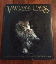 Vavra's Cats by Robert Vavra (Hardcover, signed)